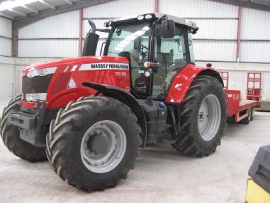 Трактор - Massey-Ferguson 7618 Efficient