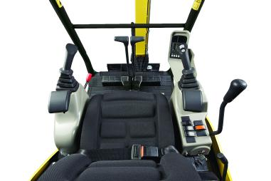 Minibagger - Yanmar SV16