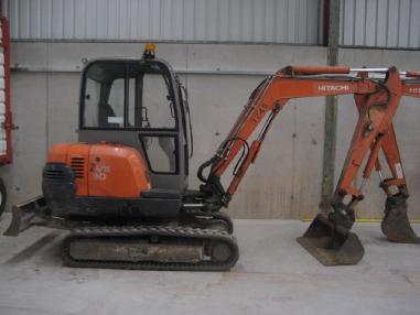 Tracked excavator - Hitachi ZX30