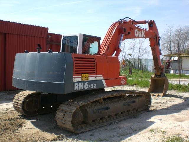 Kettenbagger - O&K RH6-22