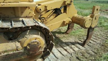 Buldozer pe roţi - Caterpillar D7F