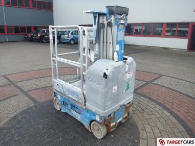 Otomatik sürüşlü çalışma platformu - Genie GR15 Vertical Mast GR-15 Worklift Electric 652cm