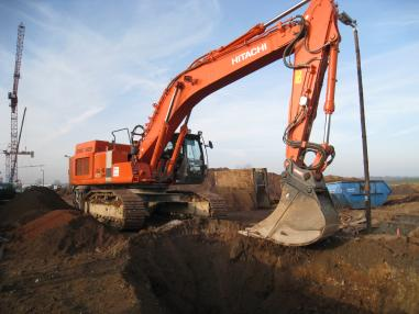 Tracked excavator - Hitachi ZX470LCH-3