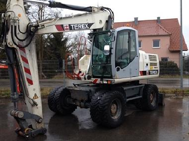Mobile excavator - Terex 190W