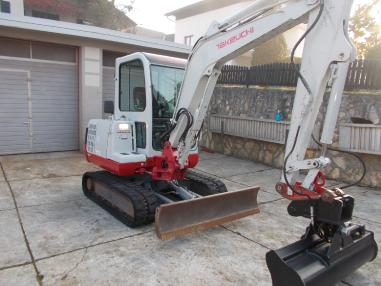 Mini excavator - Takeuchi tb 135,2007,3171Bst