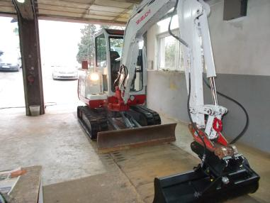 Minigraafmachine - Takeuchi tb 135,2007,3171Bst