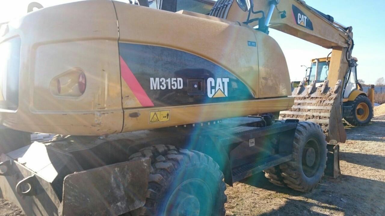 Mobiele graafmachine - Caterpillar M315D