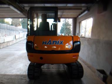 Mini ekskavatör - Hanix 50C,2005,2998Bst,3loffel