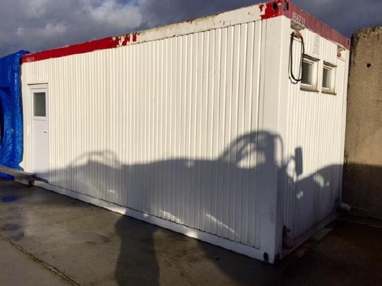 Hachmeister Sanitärcontainer WC Container Duschcontainer Wasch