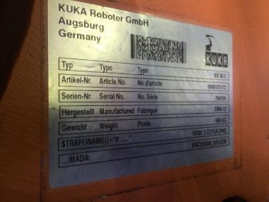 Станок с ЧПУ-управлением - Kuka KR30-3