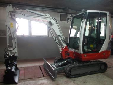 Mini excavator - Takeuchi tb 228,3277Bst,2009,hydr schnel.+4loffel