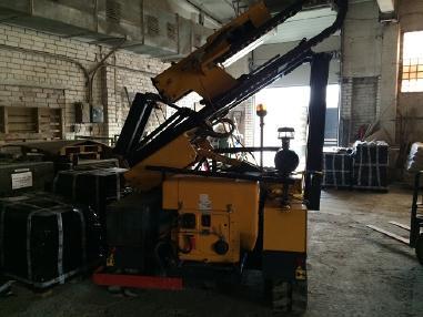 Piling rig - Orteco 1000HD