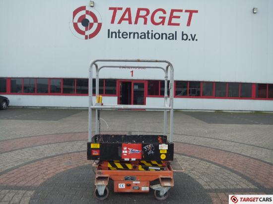 NSG PopUp Mini Pop Up Scissor Work Lift 363cm Electric