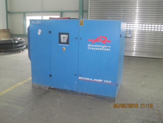 Screw-Type Compressor RLR 125B7 AIR
