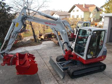 Mini excavator - Takeuchi tb250,powertilt,2009,3822Bst