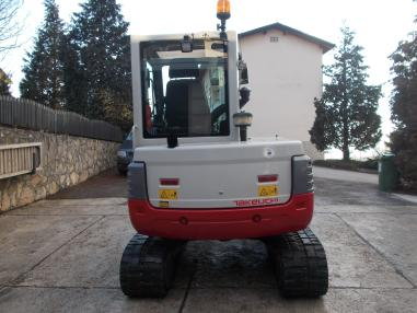 mini bager - Takeuchi tb250,powertilt,2009,3822Bst