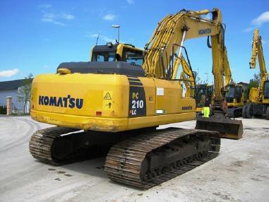 Tracked excavator - Komatsu PC210LC-8