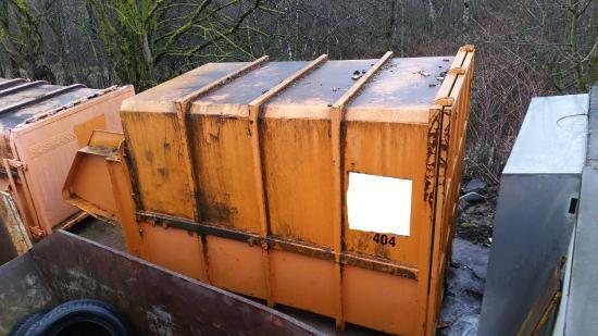 Haller Preßcontainer 10m³