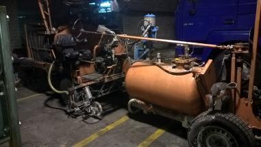 stroj za obilježavanje ulica - Hofmann 26
