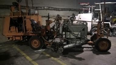 stroj za obilježavanje ulica - Hofmann H-33