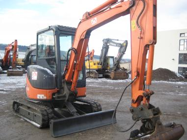 Mini ekskavatör - Hitachi ZX35U-2