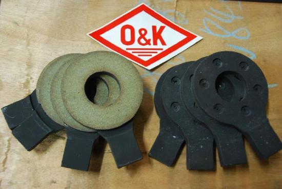 Bremslasche für O&K Greifer