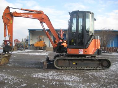 Mini-pelle - Hitachi ZX50U-2