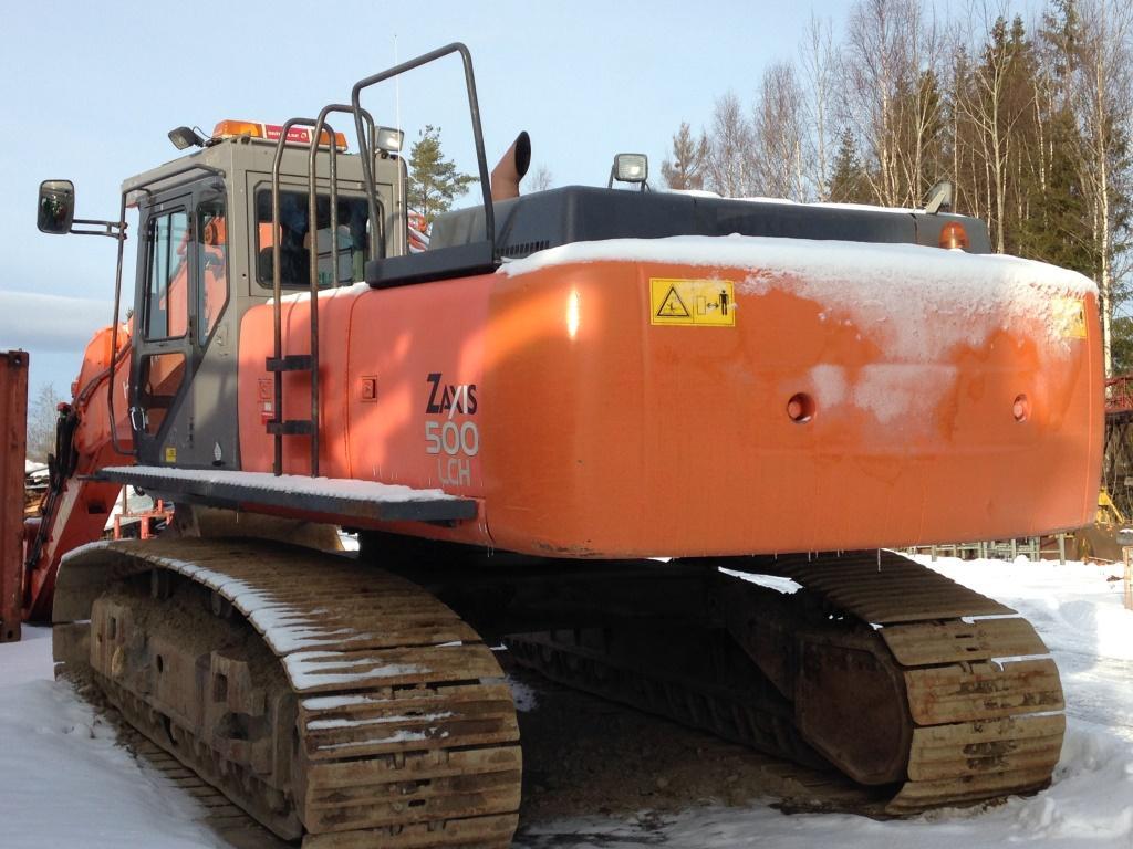 Excavator cu lanţ - Hitachi zaxis 500 LCH
