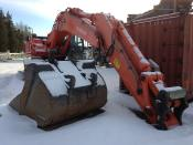 Hitachi zaxis 500 LCH 8000 working-hours. very well maintained resp,well driven !