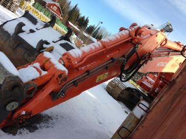 Tracked excavator - Hitachi zaxis 500 LCH