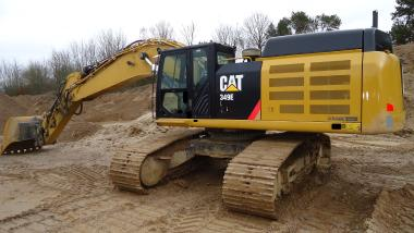 Rupsgraafmachine - Caterpillar 349EL