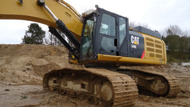 Tracked excavator - Caterpillar 349EL
