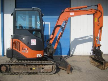 mini bager - Hitachi ZX35U-2