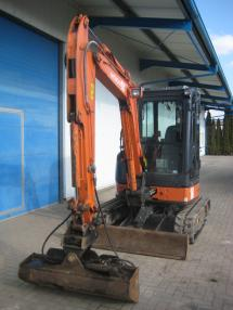 Mini-pelle - Hitachi ZX35U-2