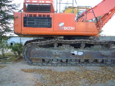Abbruchbagger - Hitachi ex 800
