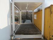 Alho Flurcontainer  [X310100179] Flurcontainer 5 m x 2,5 m, Rauminnenhöhe 2,5 m