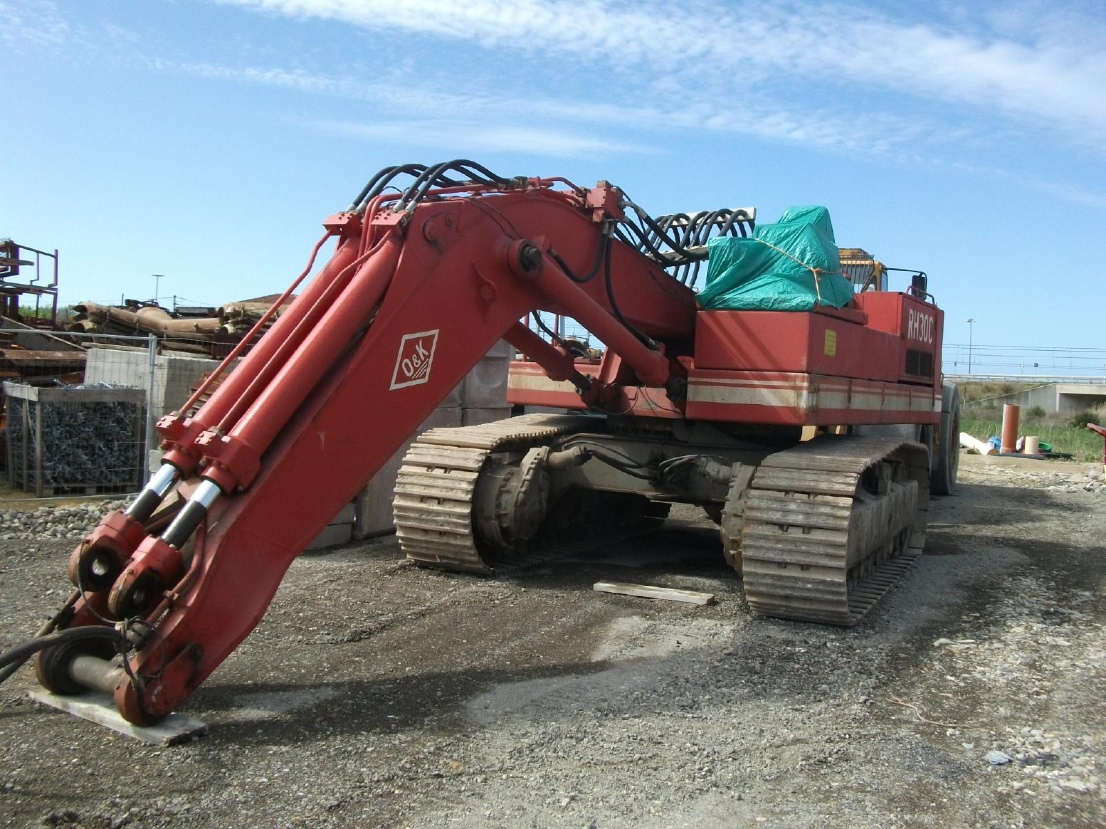 Tracked excavator - Other rh 30c