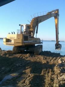 Tracked excavator - Liebherr-Linde 992