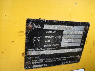 Zincirli ekskavatör - Komatsu PC88MR-6