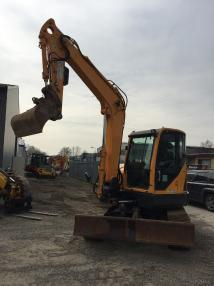 Tracked excavator - Hyundai robex 80CR