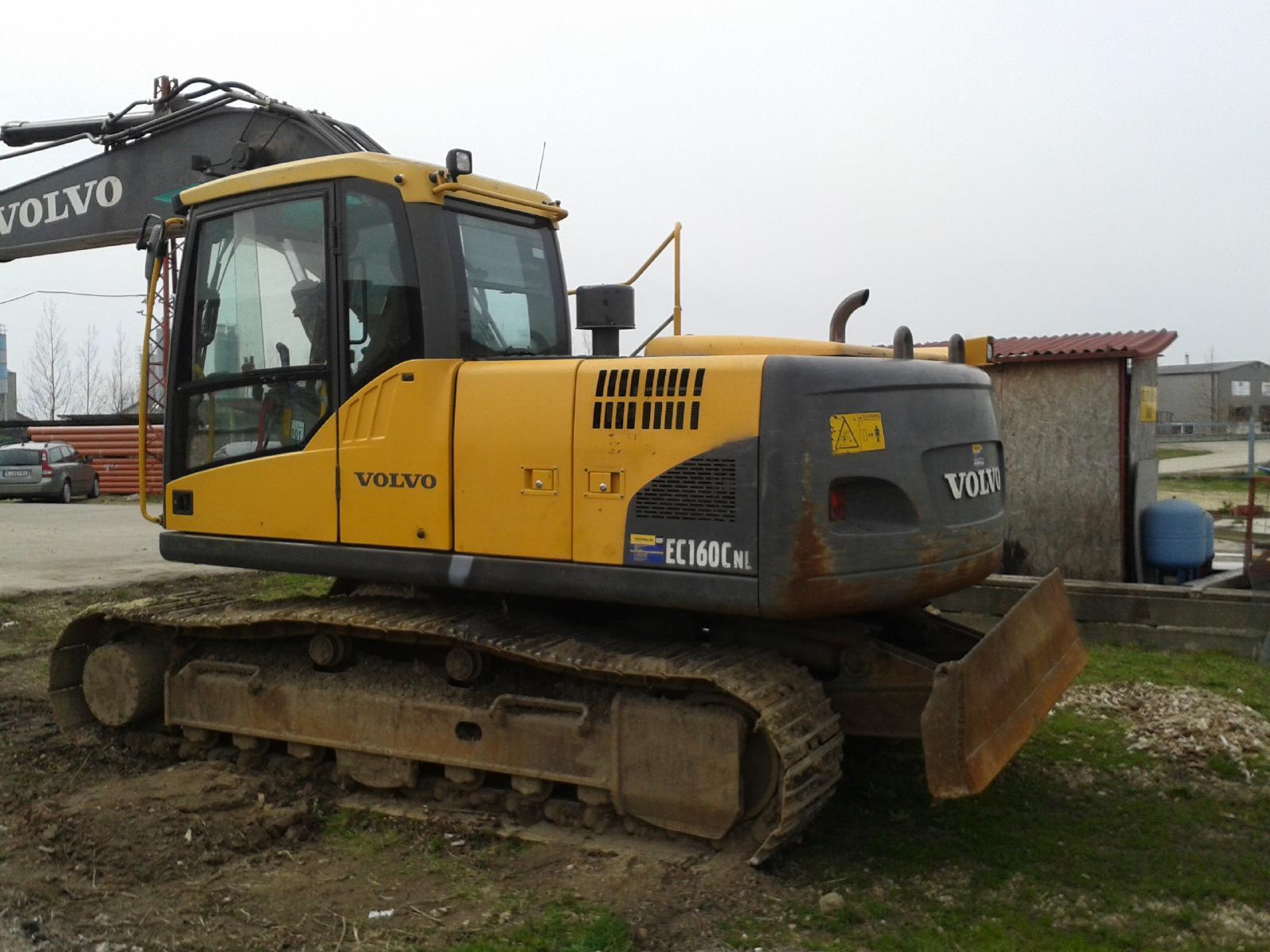 Volvo EC 160 CN Escavatore cingolato usato HU / UXMC-7896-FD