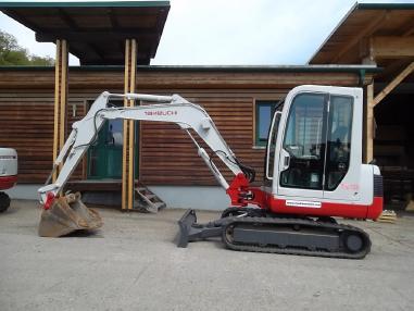 Mini excavator - Takeuchi TB 135 mit SW + 2 Löffel