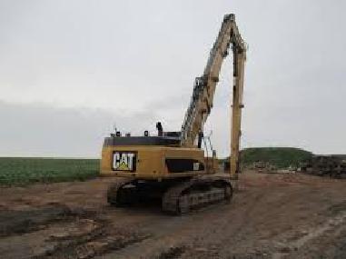 Abbruchbagger - Caterpillar CAT 345 Longfront