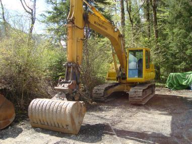 Excavadora de cadenas - Komatsu PC180-NLC-3
