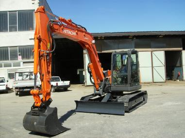 Tracked excavator - Hitachi ZX85USBLC-3