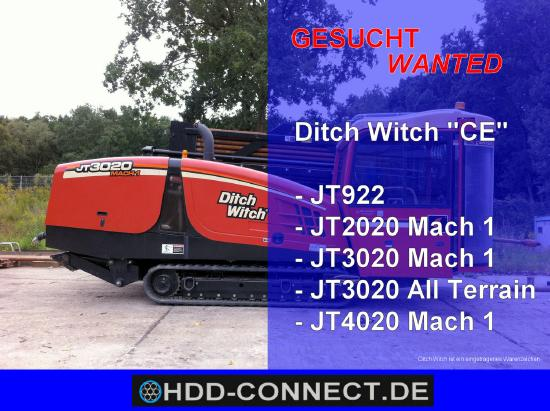 Ditch-Witch HDD-BOHRANLAGEN
