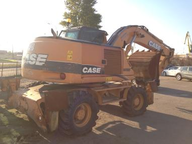 Mobile excavator - Case WX 185