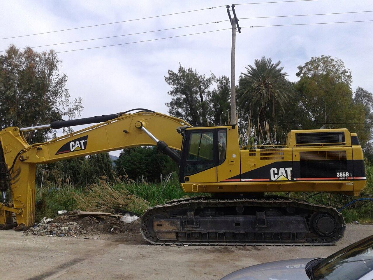 Tracked excavator - Caterpillar 365 BL II