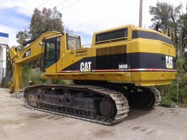 Tracked excavator - Caterpillar 365 BL II