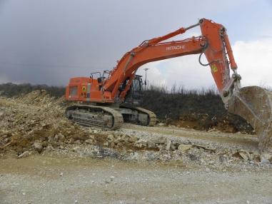 Excavadora de cadenas - Hitachi ZX 470 LCH-3